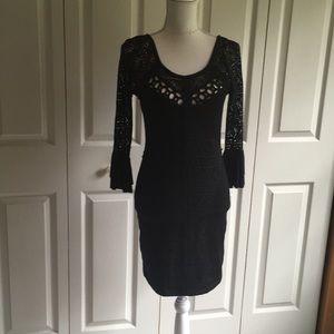 Free People NWOT lace dress sz S